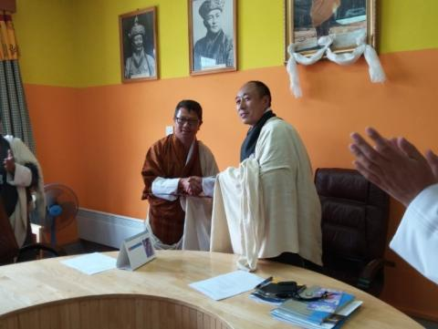 JNP signs MOU with the National Land Commission Secretariat, Bhutan