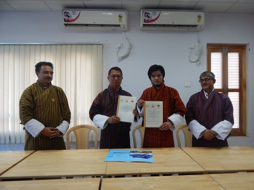 College signs MoU with Construction Development Board