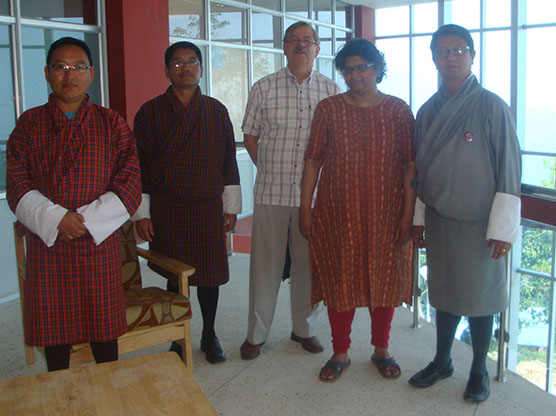 Professors from the University of Applied Sciences visited JNP