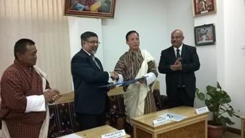 Royal University of Bhutan signed MoU with IIT, Roorkee.
