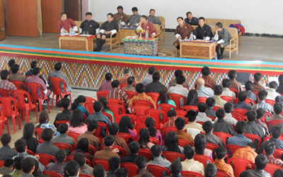 Visit by the Hon'ble Members of the National Council of Bhutan