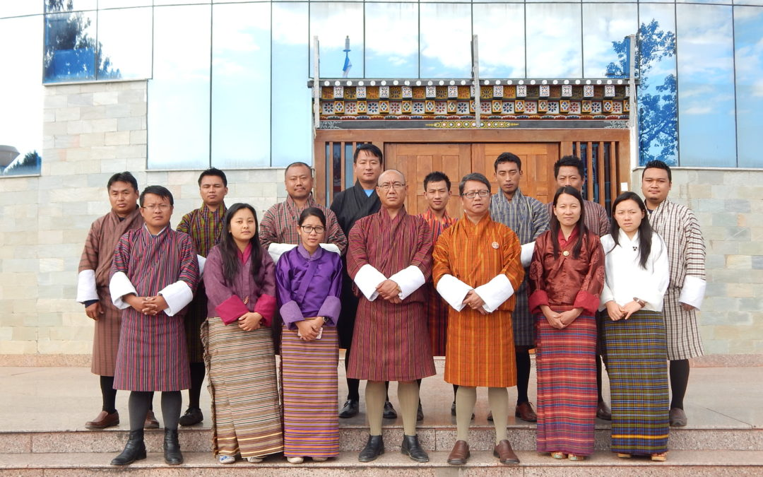 Training on 'Construction Management and Site Supervision' for the Engineers of Lhuentse Dzongkhag