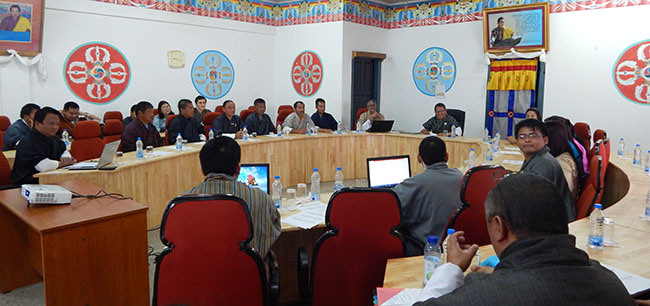 Consultative meeting between JNEC and Dewathang Community