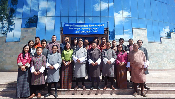 Training on Procurement and Stores Management