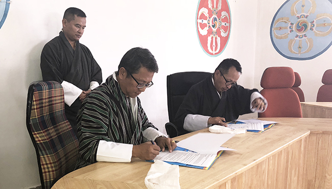 JNEC Signed MoU with DRE