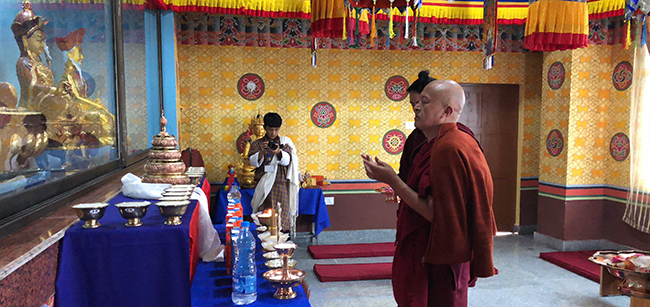 Consecration of College Lhakhang