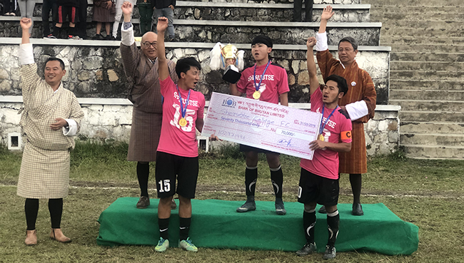 Sherubtse College Lifts JNEC Open Trophy For The Second Time