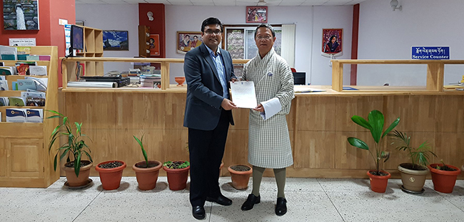 Mr. Ashish Middha, The Hon'ble Consul General of India in JNEC