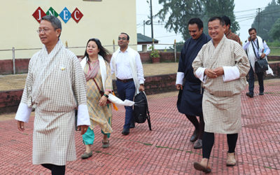 A delegation from the Central Institute of Technology (CIT), Assam visits JNEC