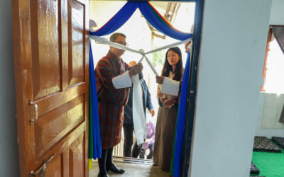 Inaugural Ceremony of Happiness and Wellbeing Center at JNEC