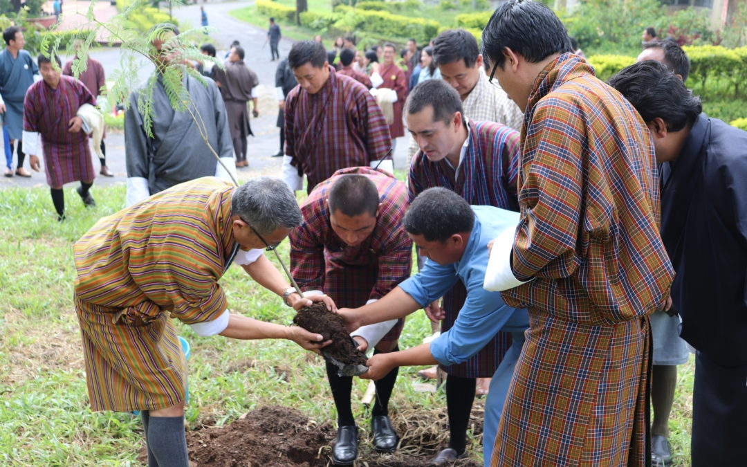 JNEC contributes to Environmental Conservation on Social Forestry Day