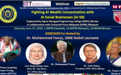 """Webinar on """"Fighting AI Wealth Concentration with AI Social Business (AI SB)"""""""