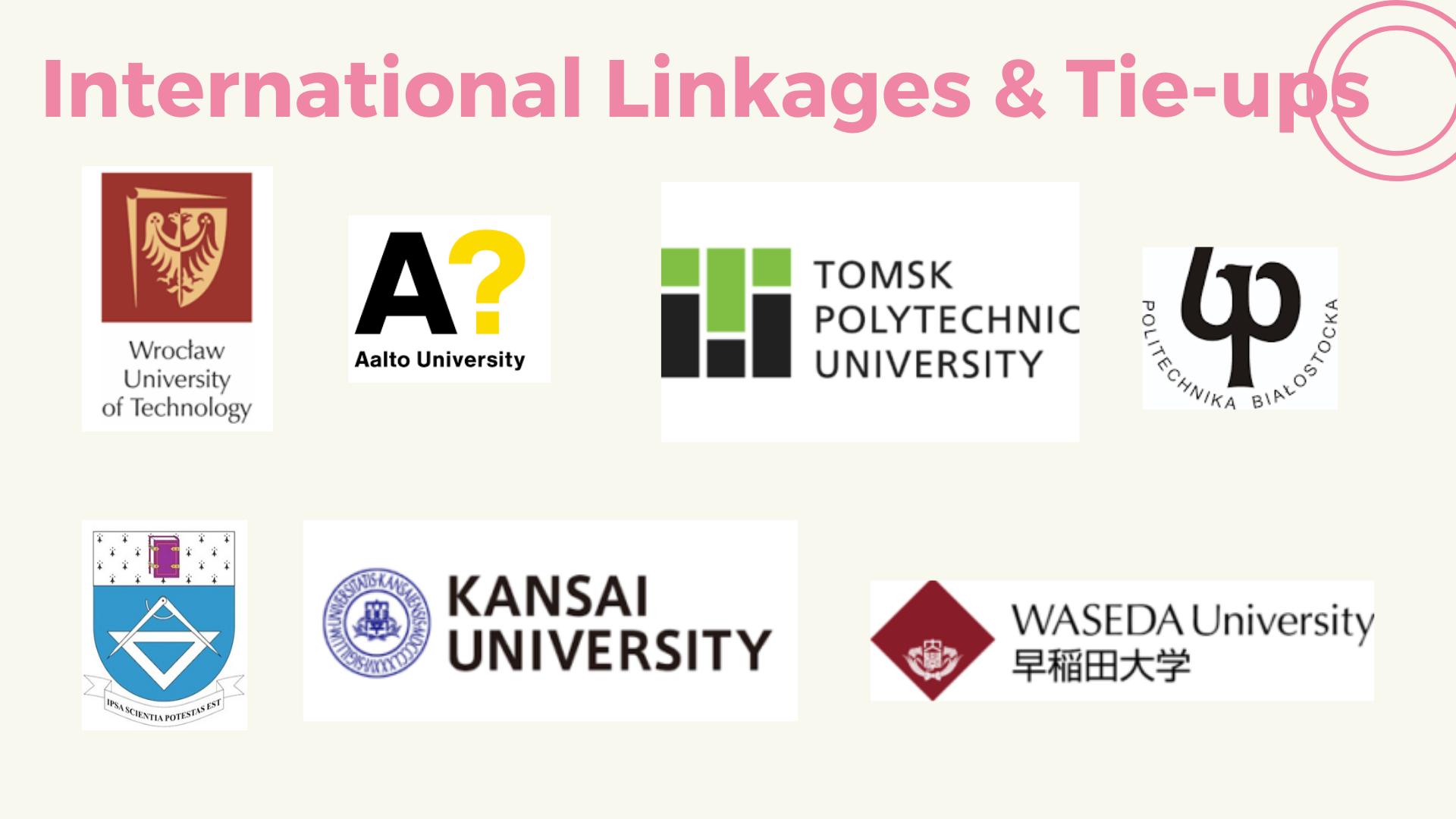 5- International Linkages Tie-Ups