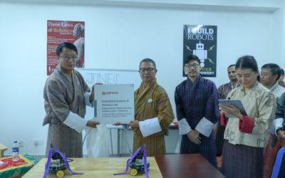 Inauguration of JNEC e-Yantra Robotics Laboratory