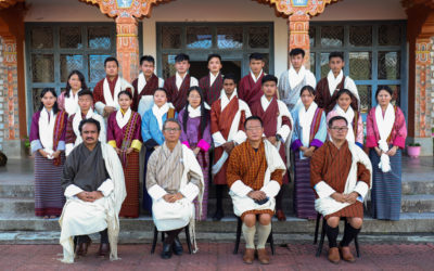 Tashi Khadar for Student Representatives and Recognition for Academic Toppers