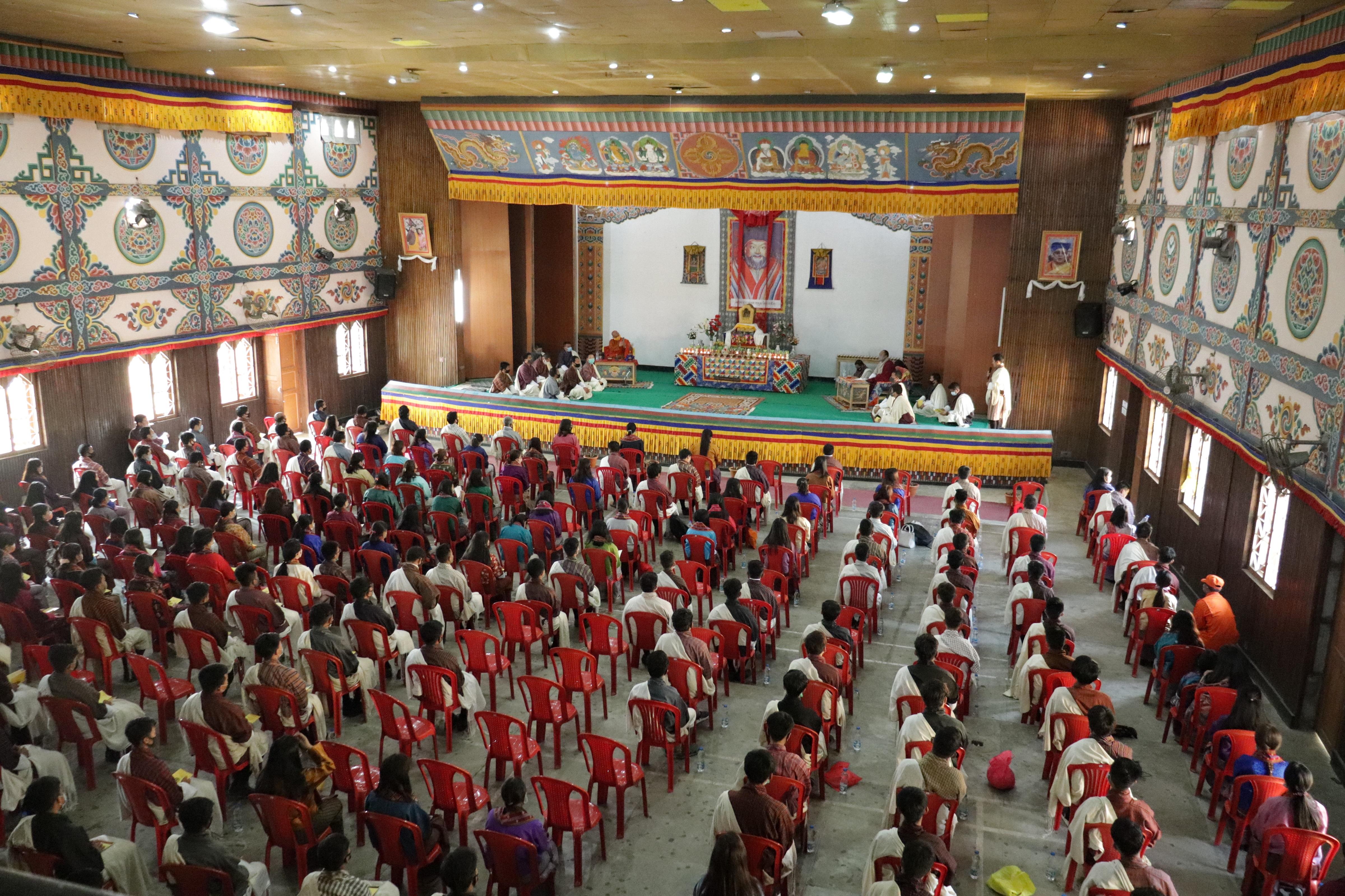 Recitation of Jigten Wangchuk to Mark Zhabdrung Kuchoe