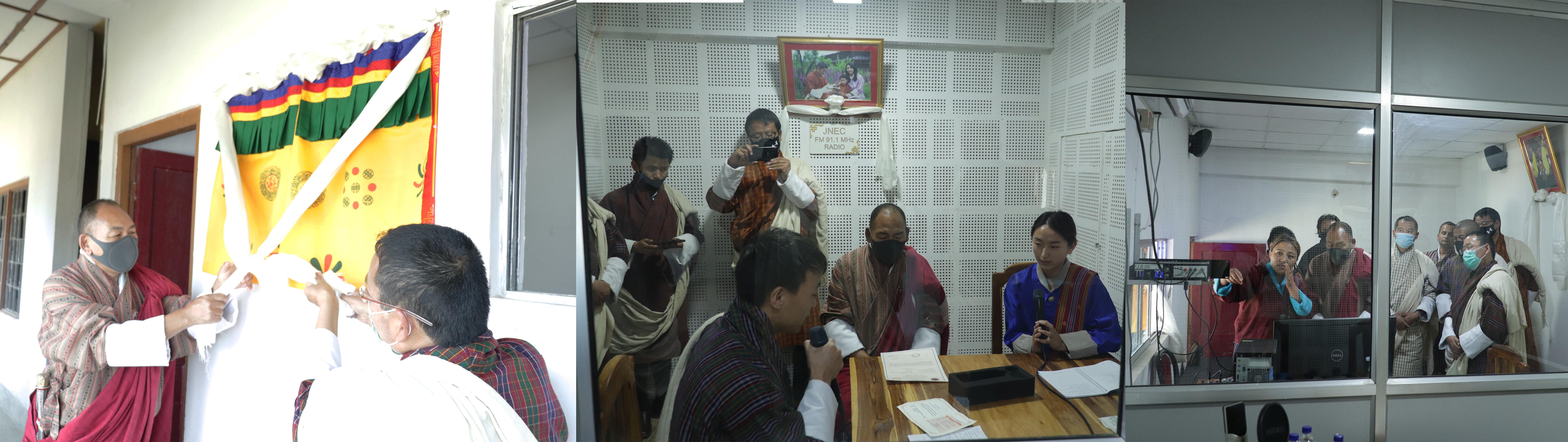 Hon'ble Dasho Dzongda Inaugurates the JNEC Campus Radio