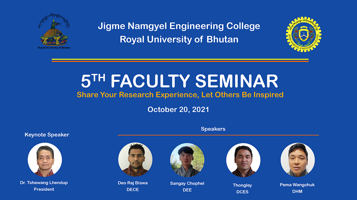 5th Faculty Seminar - 2021